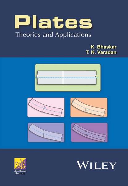 Обложка «Plates. Theories and Applications»