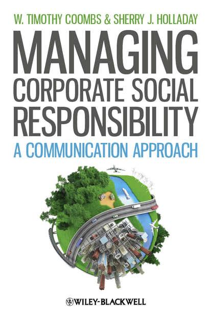 Обложка «Managing Corporate Social Responsibility. A Communication Approach»