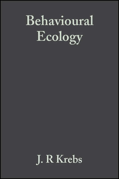 Обложка «Behavioural Ecology. An Evolutionary Approach»