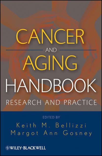 Обложка «Cancer and Aging Handbook. Research and Practice»