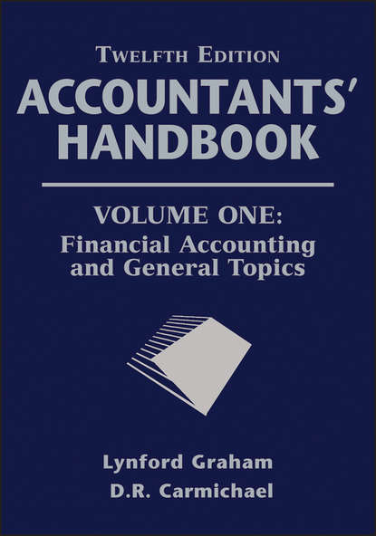 Обложка «Accountants' Handbook, Financial Accounting and General Topics»