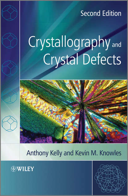 Обложка «Crystallography and Crystal Defects»