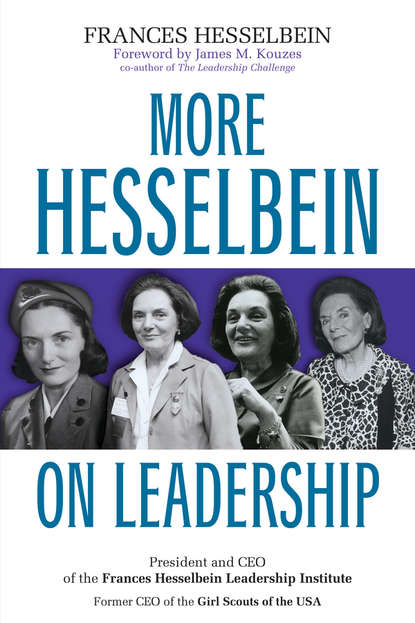 Обложка «More Hesselbein on Leadership»