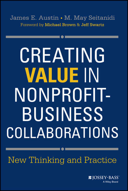 Обложка «Creating Value in Nonprofit-Business Collaborations. New Thinking and Practice»