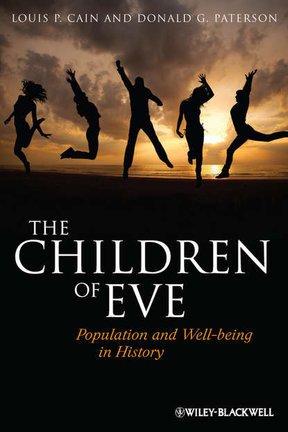 Обложка «The Children of Eve. Population and Well-being in History»
