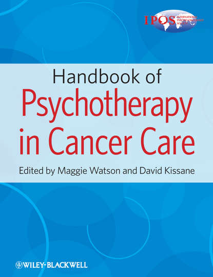 Обложка «Handbook of Psychotherapy in Cancer Care»