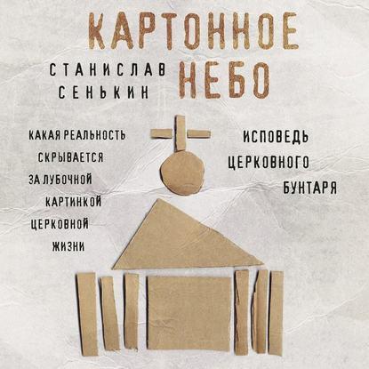 Обложка «Картонное небо. Исповедь церковного бунтаря»