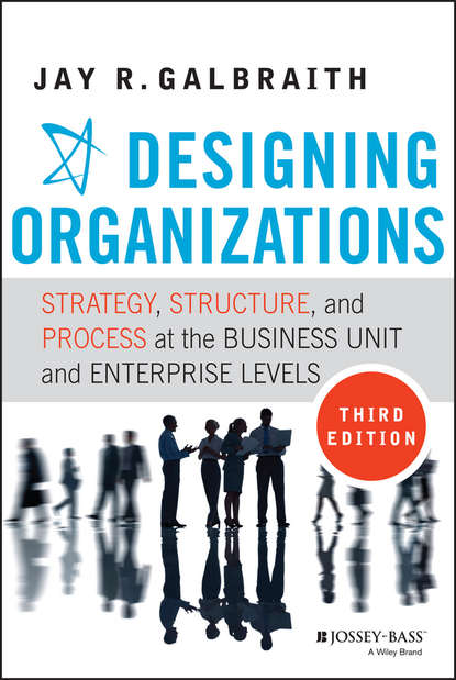 Обложка «Designing Organizations. Strategy, Structure, and Process at the Business Unit and Enterprise Levels»