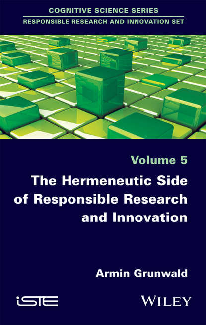 Обложка «The Hermeneutic Side of Responsible Research and Innovation»