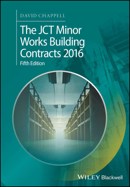 Обложка «The JCT Minor Works Building Contracts 2016»