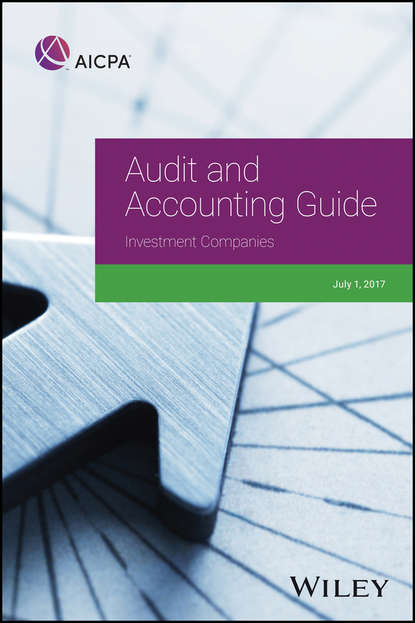 Обложка «Audit and Accounting Guide: Investment Companies, 2017»