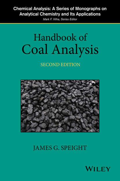 Обложка «Handbook of Coal Analysis»