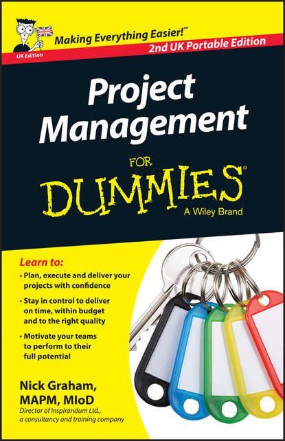 Обложка «Project Management for Dummies»
