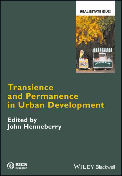 Обложка «Transience and Permanence in Urban Development»