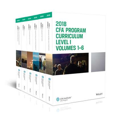 Обложка «CFA Program Curriculum 2018 Level I»