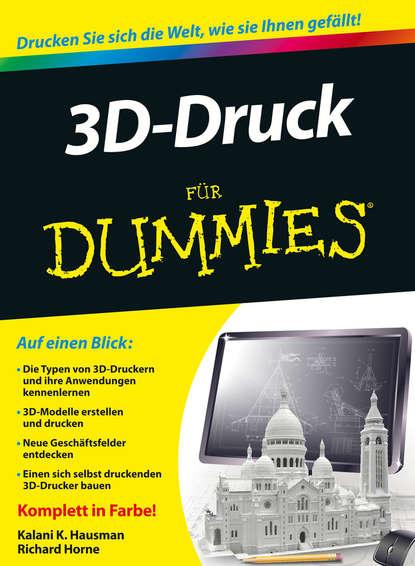 Обложка «3D-Druck für Dummies»