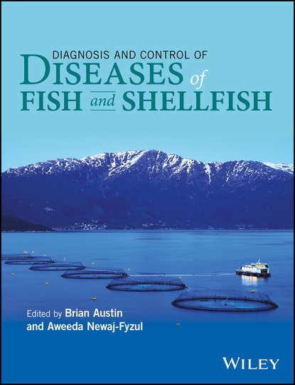 Обложка «Diagnosis and Control of Diseases of Fish and Shellfish»