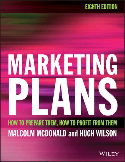 Обложка «Marketing Plans. How to prepare them, how to profit from them»
