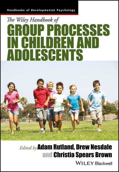Обложка «The Wiley Handbook of Group Processes in Children and Adolescents»