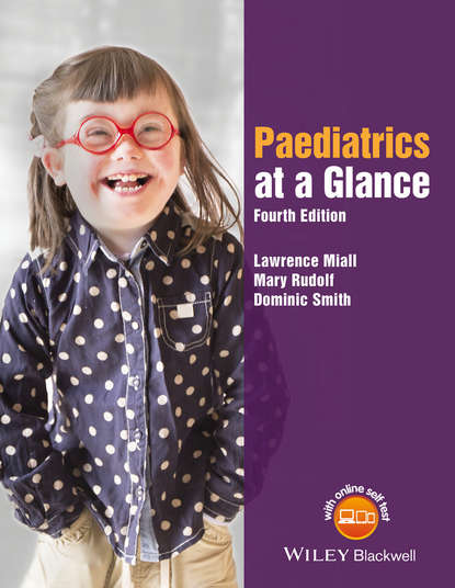 Обложка «Paediatrics at a Glance»