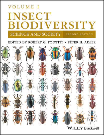 Обложка «Insect Biodiversity. Science and Society, Volume 1»