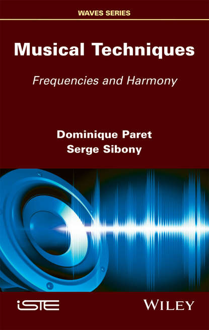 Обложка «Musical Techniques. Frequencies and Harmony»