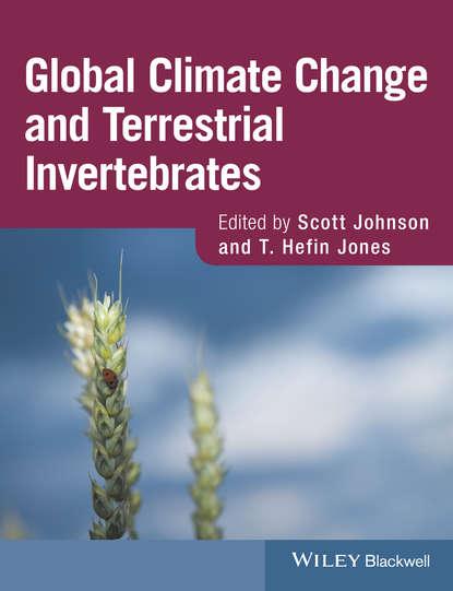 Обложка «Global Climate Change and Terrestrial Invertebrates»