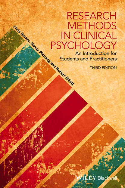 Обложка «Research Methods in Clinical Psychology. An Introduction for Students and Practitioners»