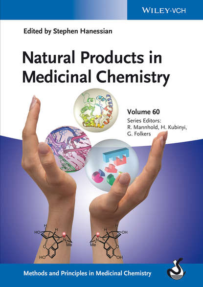 Обложка «Natural Products in Medicinal Chemistry»