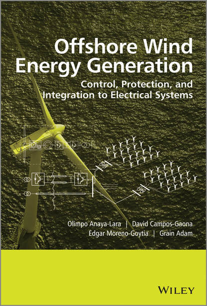 Обложка «Offshore Wind Energy Generation. Control, Protection, and Integration to Electrical Systems»