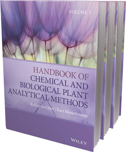 Обложка «Handbook of Chemical and Biological Plant Analytical Methods, 3 Volume Set»