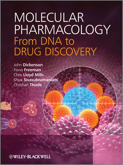 Обложка «Molecular Pharmacology. From DNA to Drug Discovery»