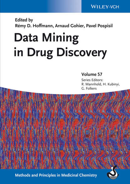 Обложка «Data Mining in Drug Discovery»