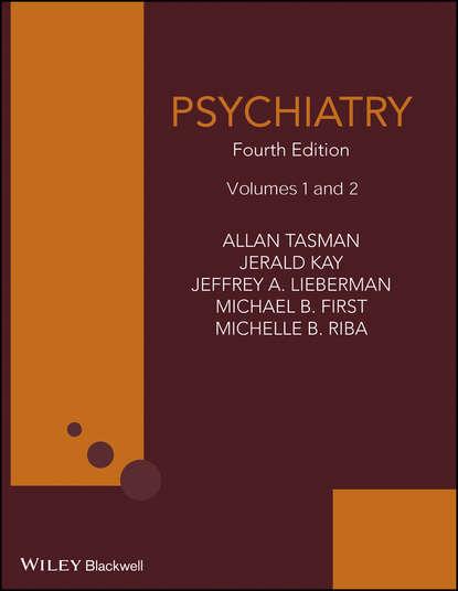 Обложка «Psychiatry, 2 Volume Set»