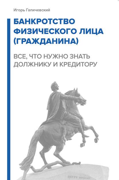 Обложка «Банкротство физического лица (гражданина). Все, что нужно знать должнику и кредитору»