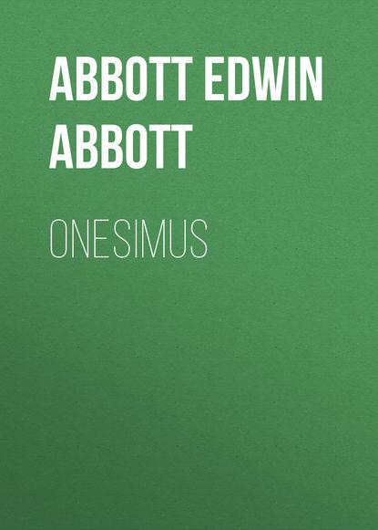 Обложка «Onesimus»