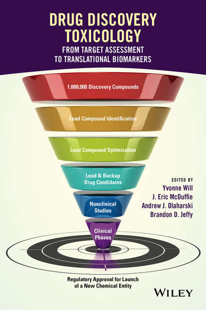 Обложка «Drug Discovery Toxicology. From Target Assessment to Translational Biomarkers»