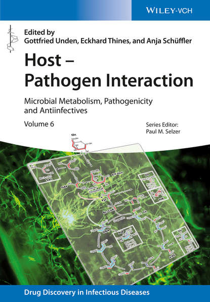 Обложка «Host - Pathogen Interaction. Microbial Metabolism, Pathogenicity and Antiinfectives»