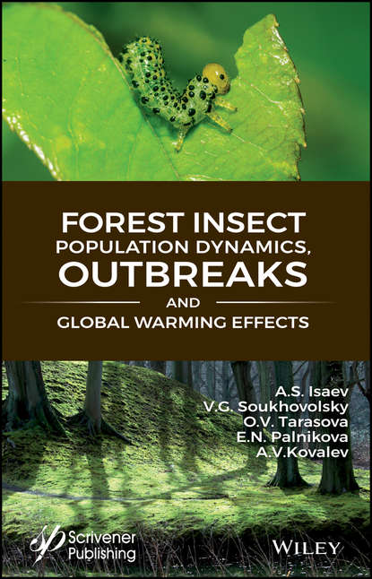 Обложка «Forest Insect Population Dynamics, Outbreaks, And Global Warming Effects»