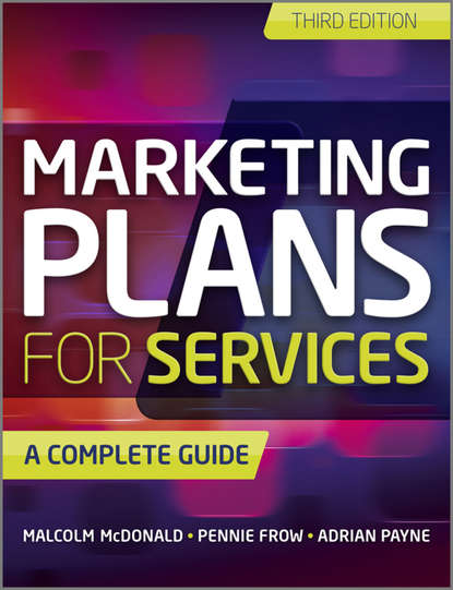 Обложка «Marketing Plans for Services. A Complete Guide»