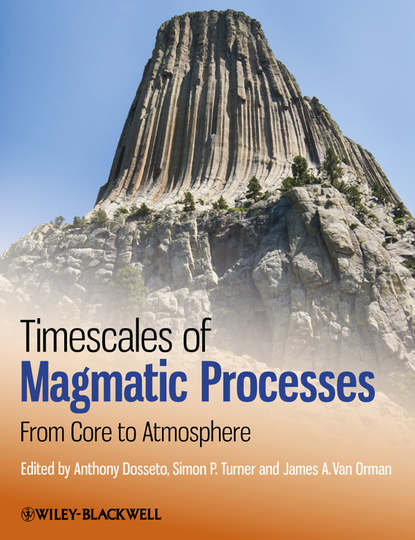 Обложка «Timescales of Magmatic Processes. From Core to Atmosphere»