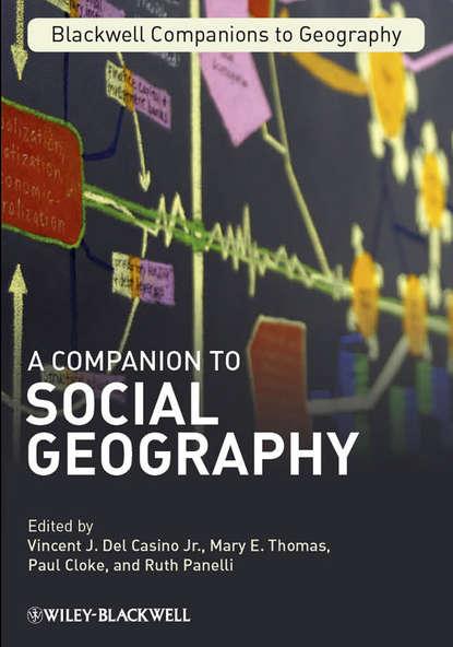 Обложка «A Companion to Social Geography»