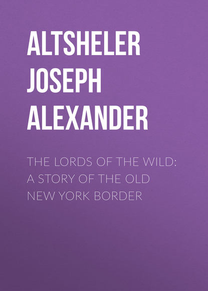Обложка «The Lords of the Wild: A Story of the Old New York Border»