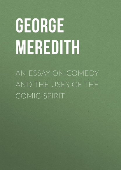 Обложка «An Essay on Comedy and the Uses of the Comic Spirit»