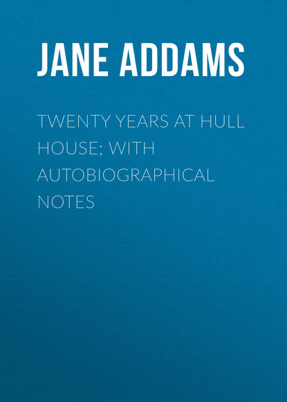 Обложка «Twenty Years at Hull House; with Autobiographical Notes»