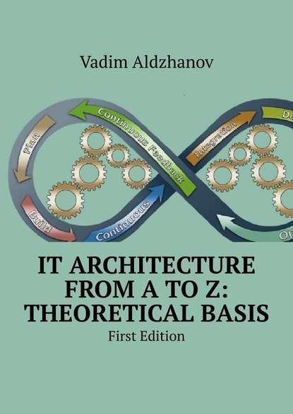 Обложка «IT Architecture from AtoZ: Theoretical basis. First Edition»