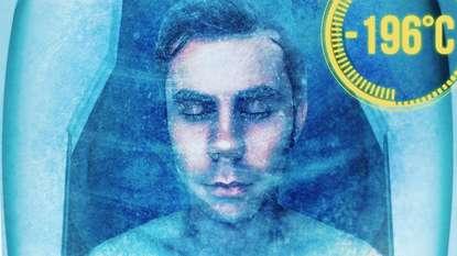 Обложка «Заморозка человека + 1 к бессмертию»