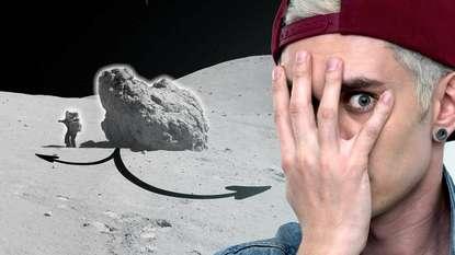 Обложка «Куда ползут камни на Луне?»