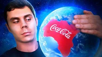 Обложка «Что если Coca-Cola была бы страной?»