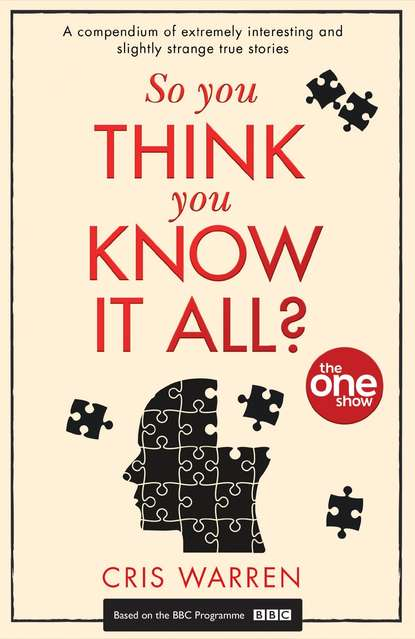 Обложка «So You Think You Know It All: A compendium of extremely interesting and slightly strange true stories»